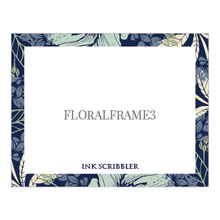 Load image into Gallery viewer, FloralFrame3 Notecard