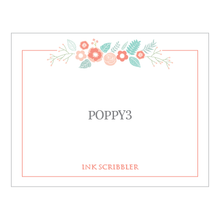 Load image into Gallery viewer, Poppy3 Notecards