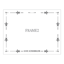Load image into Gallery viewer, Frame2 Notecards - ink scribbler
