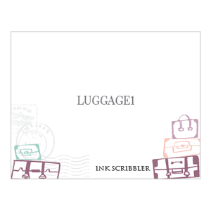 Luggage1 Notecards