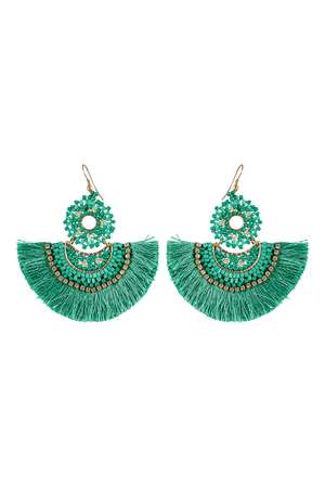 Algarve Earring - Jade - The Haven Co