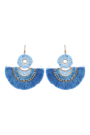 Algarve Earring - Marine - The Haven Co