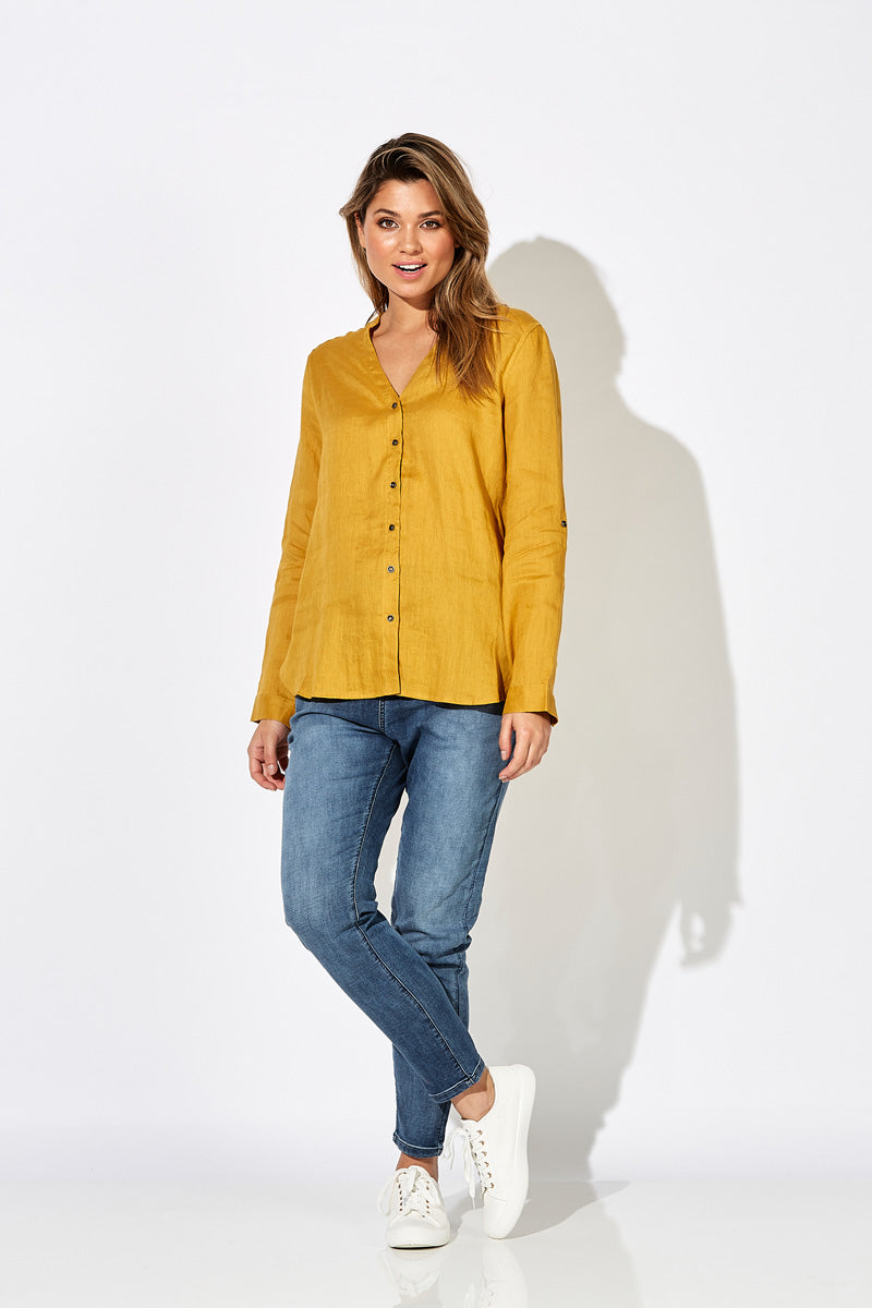 Fontalina Shirt - Amber - The Haven Co