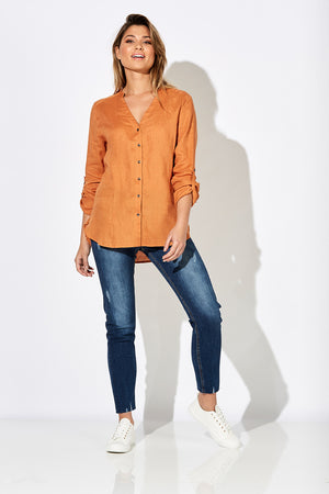 Fontalina Shirt - Clay - The Haven Co