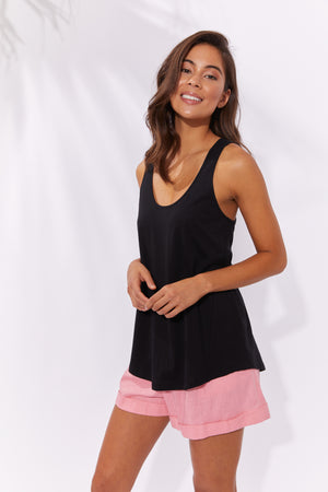 Havana Tank - Black - The Haven Co