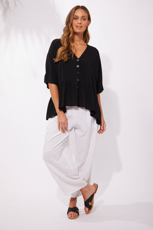 Havana Top - Black - The Haven Co