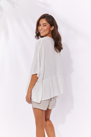 Havana Top - White - The Haven Co