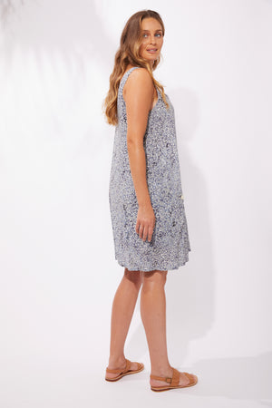 Havana Tank Dress - Havana Blue - The Haven Co