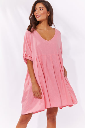 Cuban V Top/Dress - Candy - The Haven Co