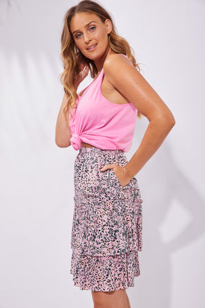 Havana Skirt - Havana Pink - The Haven Co