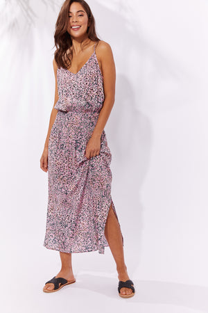 Havana Strap Dress - Havana Pink - The Haven Co