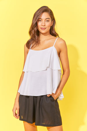Paradise Top - White - The Haven Co