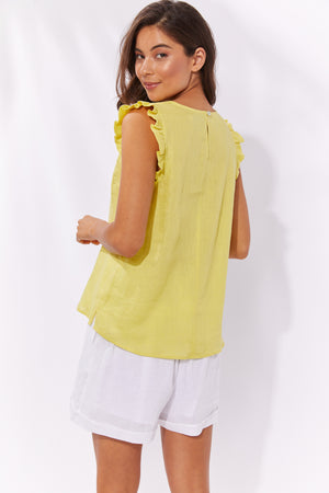 Palma Top - Lemon - The Haven Co