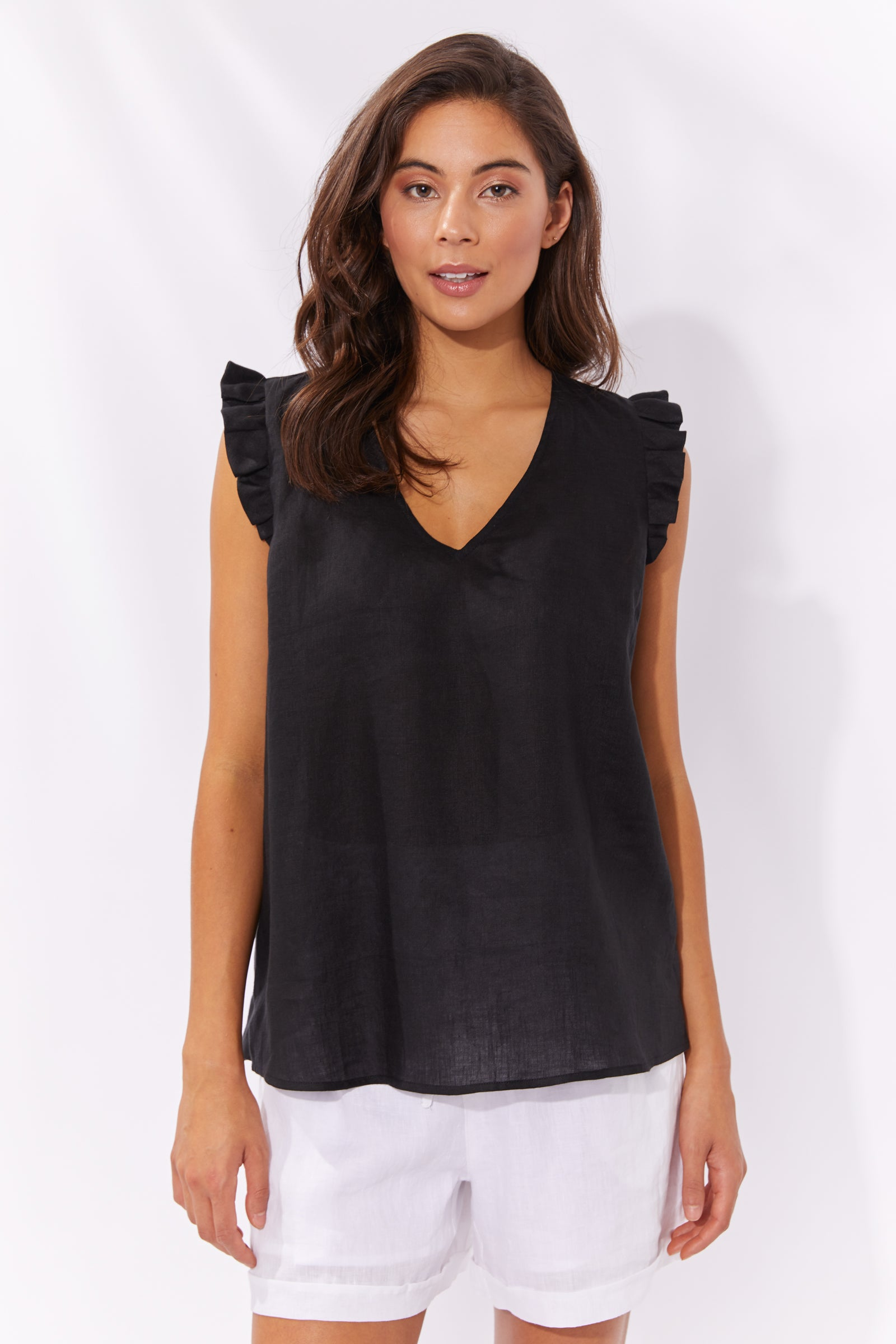 Palma Top - Black - The Haven Co