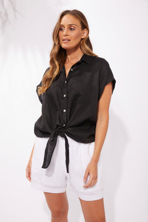 Palma Shirt - Black - The Haven Co