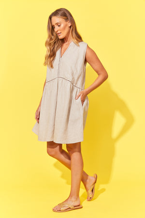 Palma Dress - Sand - The Haven Co