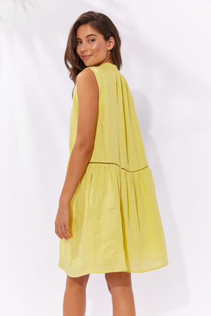 Palma Dress - Lemon - The Haven Co