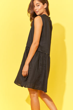 Palma Dress - Black - The Haven Co