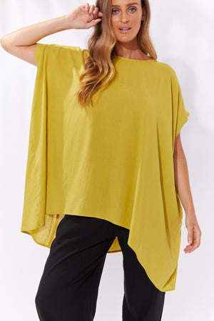 Paradise Relax Top - Lime - The Haven Co
