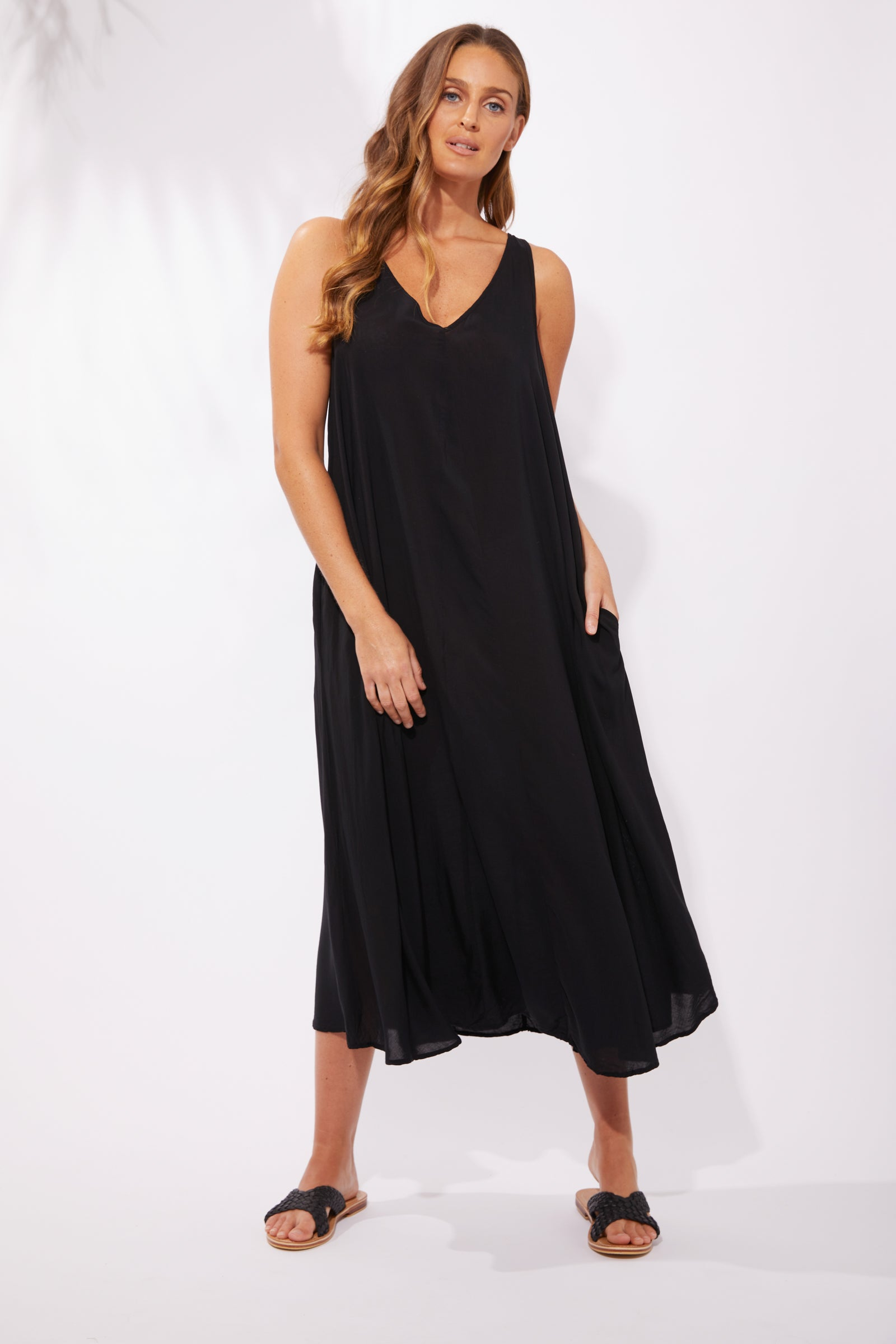Paradise Maxi - Black - The Haven Co