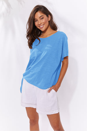 Majorca Tshirt - Marina - The Haven Co
