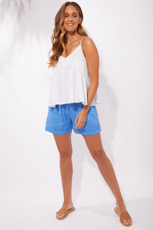Majorca Shorts - Marina - The Haven Co