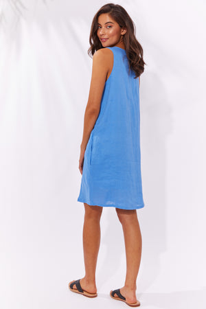 Majorca Tank Dress - Marina - The Haven Co