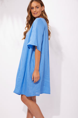 Majorca Dress - Marina - The Haven Co