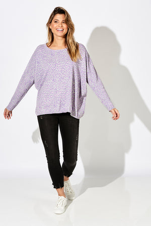 Summit Knit - Marley Lilac - The Haven Co