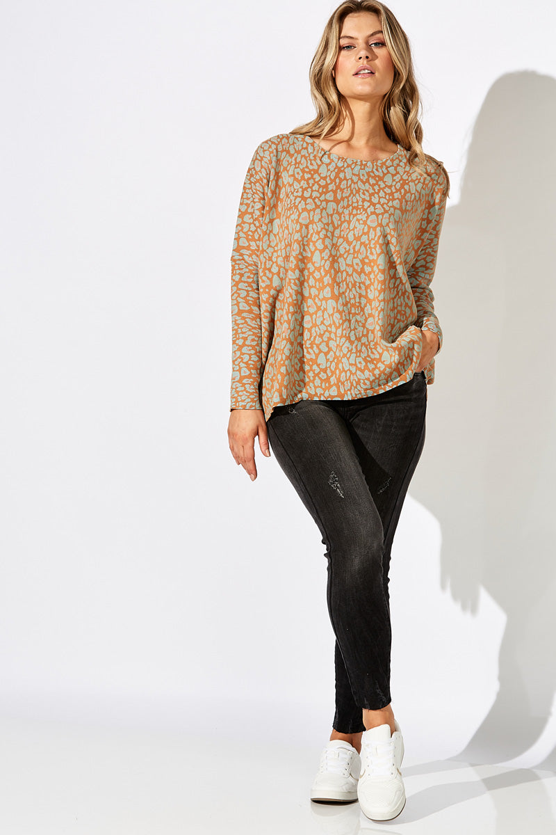 Summit Knit - Caramello - The Haven Co
