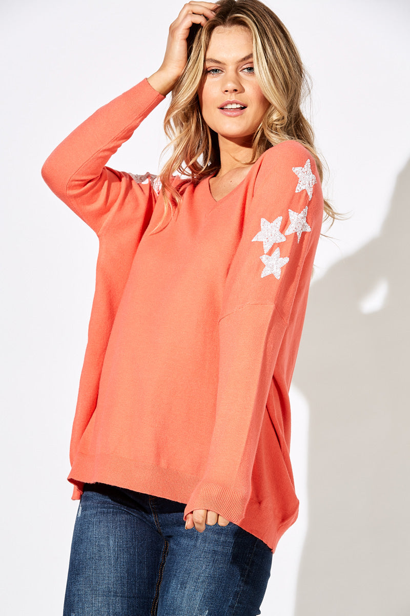 Sublime Knit - Coral - The Haven Co