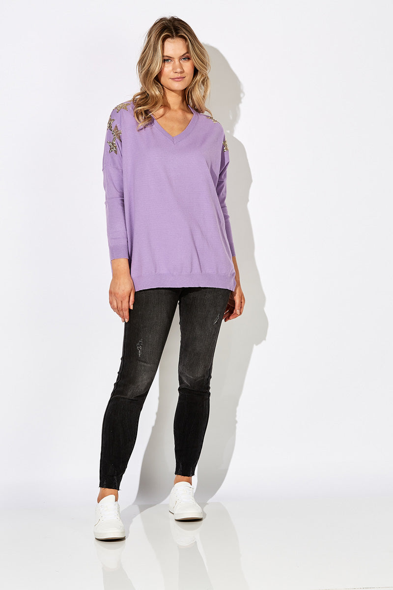 Sublime Knit - Lilac - The Haven Co