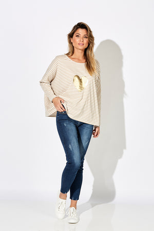 Sail Away Top - Bamboo - The Haven Co