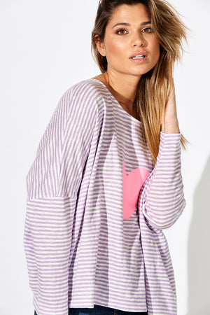 Sail Away Top - Lilac - The Haven Co