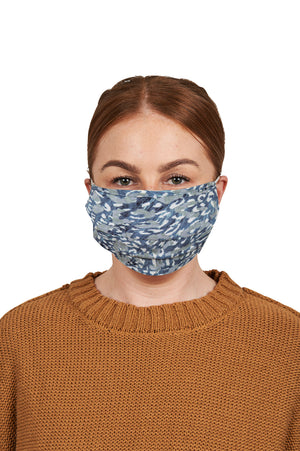 Havana Mask - Havana Blue - The Haven Co