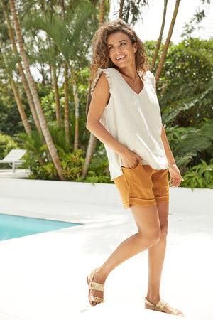 Palma Top - Sand - The Haven Co
