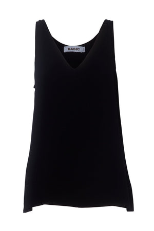 Basic Tank - Ebony - The Haven Co