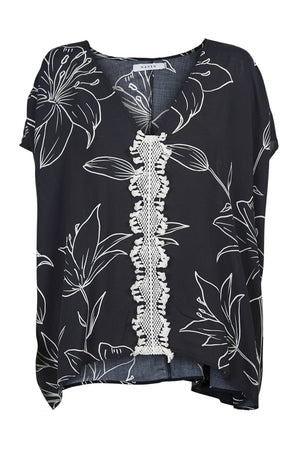Algarve Top - Ink Lily - The Haven Co
