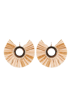 Isola Earring - Sand - The Haven Co