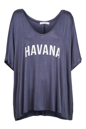 Havana Tshirt - Denim - The Haven Co