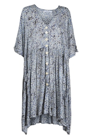 Havana Dress - Havana Blue - The Haven Co