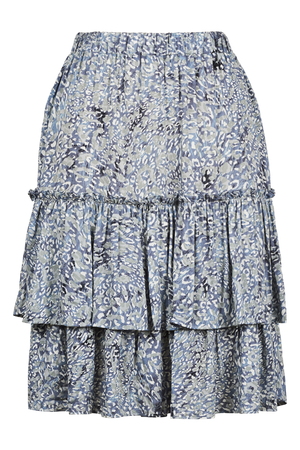 Havana Skirt - Havana Blue - The Haven Co
