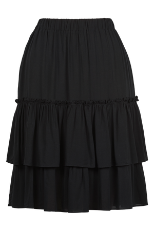 Havana Skirt - Black - The Haven Co