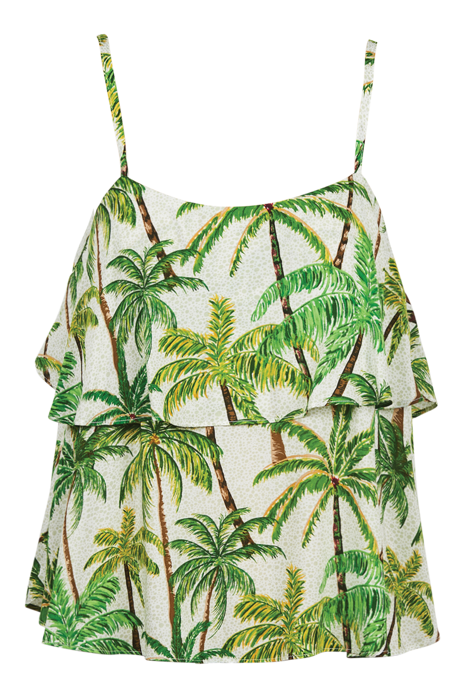 Paradise Top - Lime Palm - The Haven Co