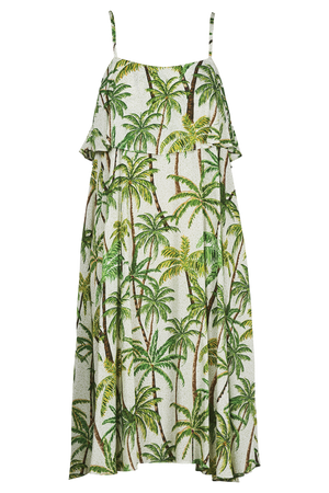 Paradise Dress - Lime Palm - The Haven Co