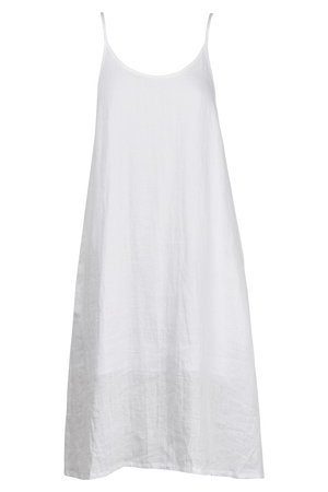Palma Tank Dress - White - The Haven Co