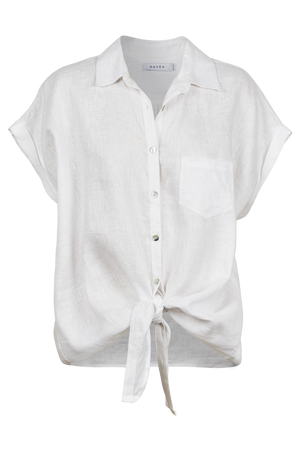 Palma Shirt - White - The Haven Co