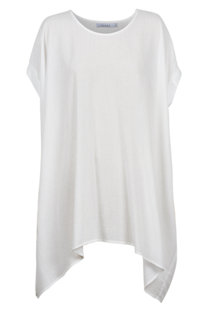 Paradise Relax Top - White - The Haven Co