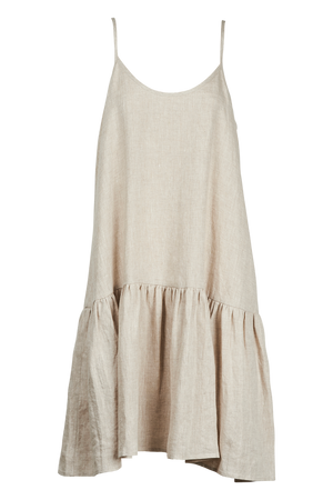 Majorca String Dress - Sand - The Haven Co