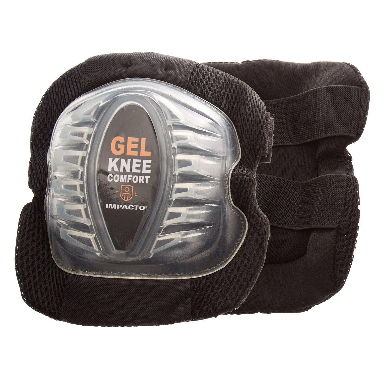 864-00 All-Terrain Gel Kneepads have a donut-shaped GEL filled pad that provides cushioning and shock and reduces direct pressure to the patella bone while you work. The elevated surface of the 864-00 kneepad improves stability and traction, absorbs impact, and helps support your knee.